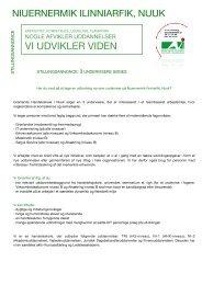 Undervisere - efterår 2012 - Grønlands Handelsskole