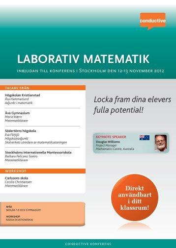 laborativ matematik - Conductive