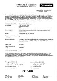 certificate of conformity with european directive - Waters Instruments ...