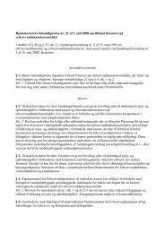 Hjemmestyrets bekendtgørelse nr. 21 af 1. juli 2008 om tilskud til ...