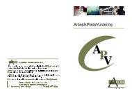 APV - arbejdspladsvurdering - AKON
