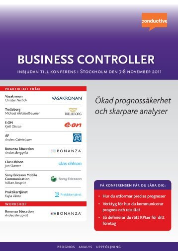 business controller - Conductive