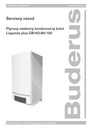 servis GB162.qxd - Buderus