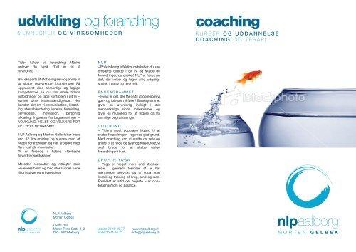 Coaching final FISHBOWLS - NLP Aalborg