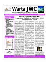 Warta JWC (Juni'05).FH10 - binus university