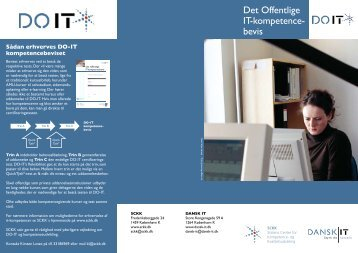 Det Offentlige IT-kompetencebevis - SCKK