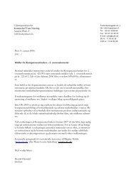 Udenrigsministeriet Kontorchef Tom Nørring Asiatisk Plads 2 ... - SCKK