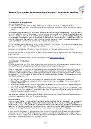 Hammel Neurocenter: implementering af strategi – fra vision ... - SCKK