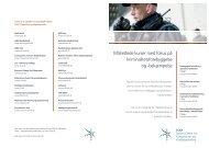 Målrettede kurser med fokus på kriminalitetsforebyggelse og ... - SCKK