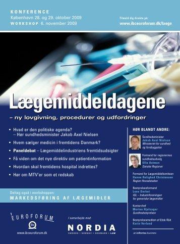 Markedsføring af lægemidler - IBC Euroforum