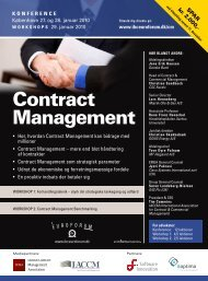 Contract Management - IBC Euroforum