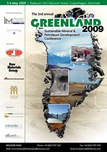 sustainable Mineral & Petroleum Development ... - IBC Euroforum