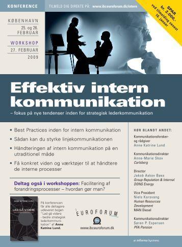 Effektiv intern kommunikation - IBC Euroforum