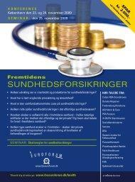 sundhedsforsikringer - IBC Euroforum