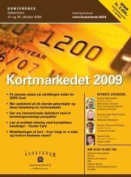 Kortmarkedet 2009 - IBC Euroforum