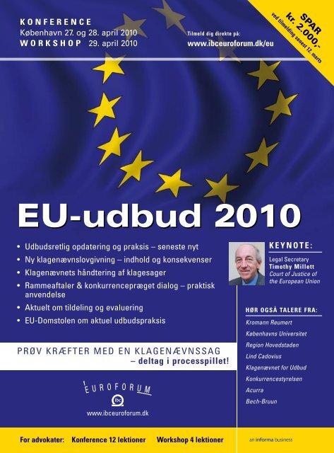 EU-udbud 2010 - IBC Euroforum