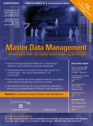 Master data Management - IBC Euroforum