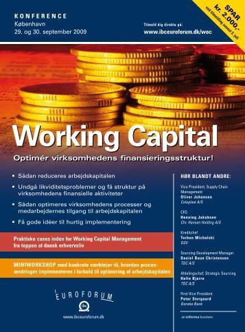 Working Capital - IBC Euroforum