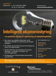 Intelligent økonomistyring - IBC Euroforum