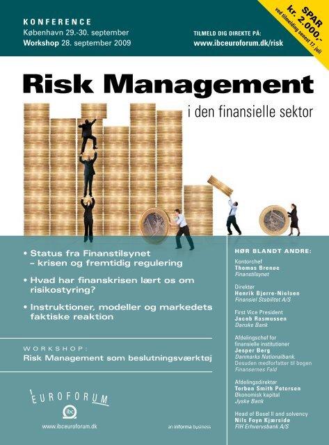 risk management som beslutningsværktøj - IBC Euroforum