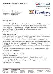 Produktinformation (PDF) - Polar Print