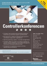 Controllerkonferencen 2009 - IBC Euroforum