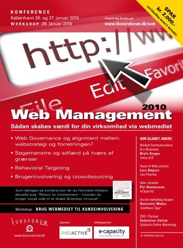 Web Management - IBC Euroforum