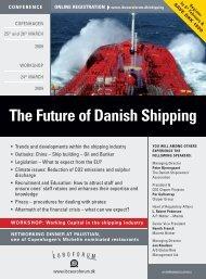 The Future of Danish Shipping - IBC Euroforum