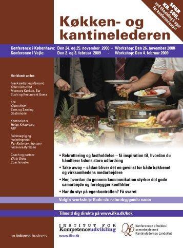Køkken- og kantinelederen - IBC Euroforum