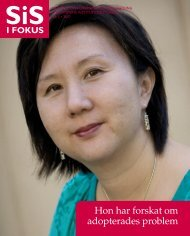 SiS i Fokus nr 3/07 (pdf 1,85 MB, nytt fönster) - Statens ...