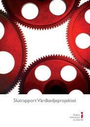 Slutrapport VÃ¥rdkedjeprojektet - Statens Institutionsstyrelse