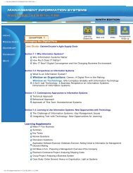 management information systems - Information Engineering ...