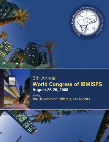 5th annual World Congress of IBMISPS - ORLive