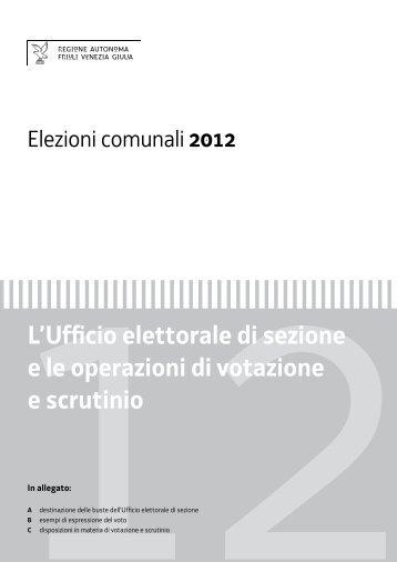 Operazioni nell'Ufficio elettorale di sezione - Votazione