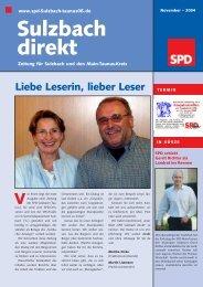 Sulzbach direkt - SPD Main-Taunus