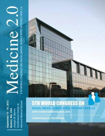 Download Final Program PDF - Medicine 2.0'13