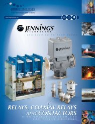 RELAYS, COAXIAL RELAYS and CONTACTORS - AMS Technologies