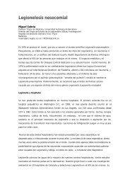 Legionelosis Nosocomial.Guia de Prevención y Control - CRESCA