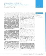 Encuentro Regional Europeo del IPA Cognicion, Conducta y ...