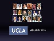 View our UCLA Stroke Center presentation - UCLA Neurosurgery