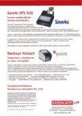 Kassajärjestelmätarjous Sam4s SPS-530 & Banksys ... - Konttorilaite - Page 2