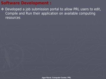 Software Development : - Garuda