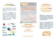 MISTRALS MISTRALS - CNRS
