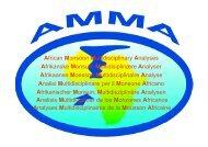ChMed_Aix_5_nov_Conf_JL-Redelsperger_AMMA - MISTRALS