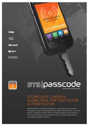 technology leader in global real-time two-factor authentication - C-cure