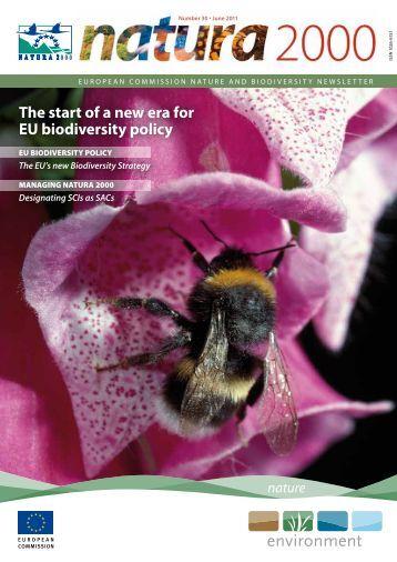 The start of a new era for EU biodiversity policy - European ...