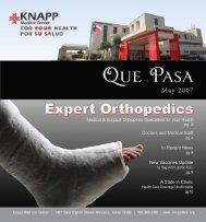 May 2007 - Knapp Medical Center
