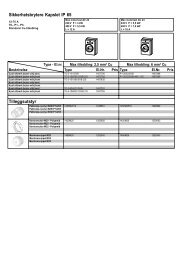 Sikkerhetsbrytere Kapslet IP 65 Tilleggsutstyr - Moeller