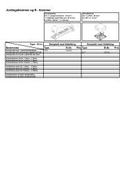 Jordingsklemmer og N - klemmer - Moeller