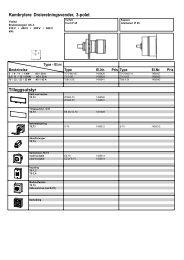 Kambrytere Dreieretningsvender, 3-polet Tilleggsutstyr - Moeller